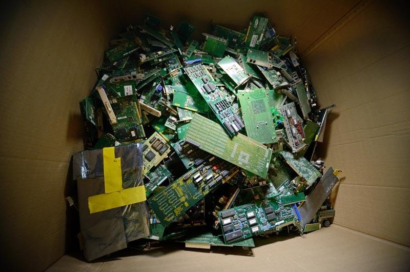 circuit-board-electronic-waste
