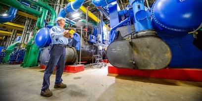 man-at-boilers-microgrid
