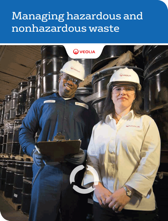 Managing hazardous and non-hazardous waste brochure