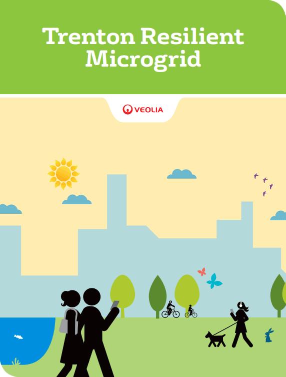 Trenton, New Jersey resilient microgrid brochure