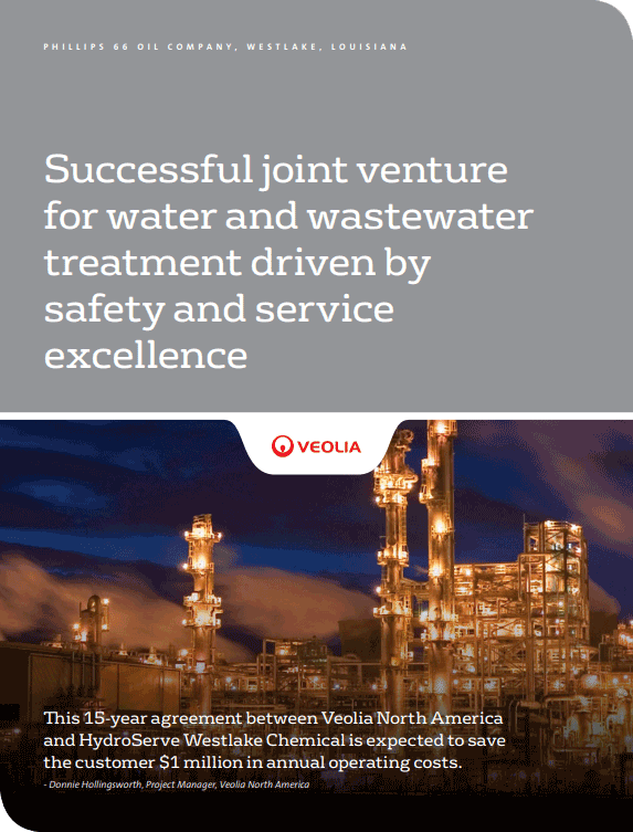 Conoco Phillips Water & Wastewater Case Study