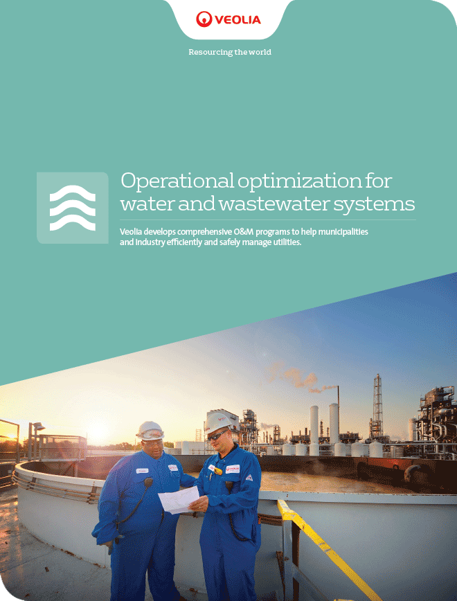 Operational optimization for water and wastewater