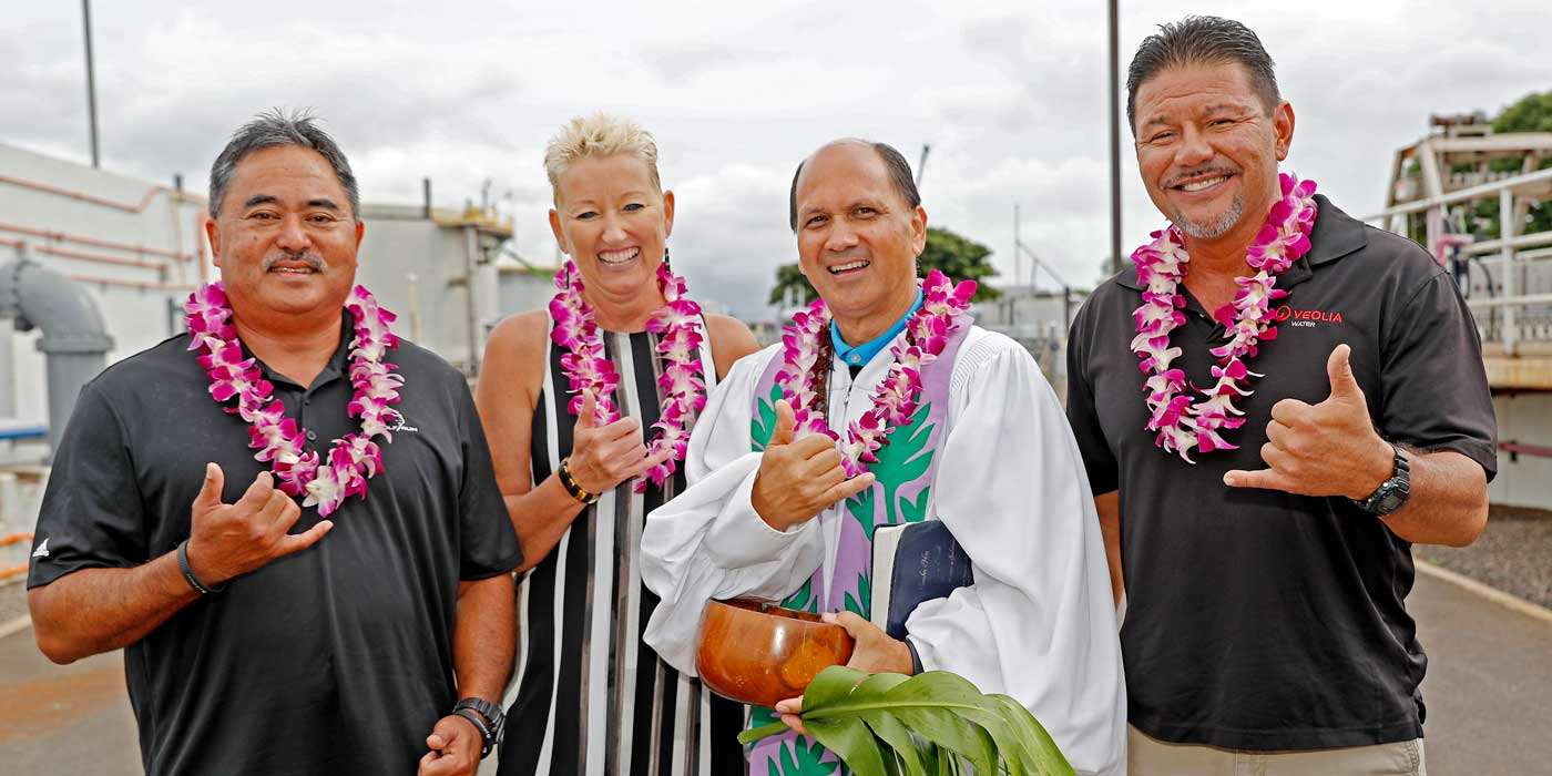 Hawaii water reuse and reclamation public private partnerships