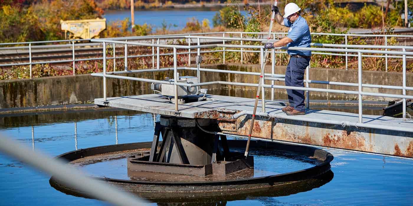 Poughkeepsie wastewater treatment operations