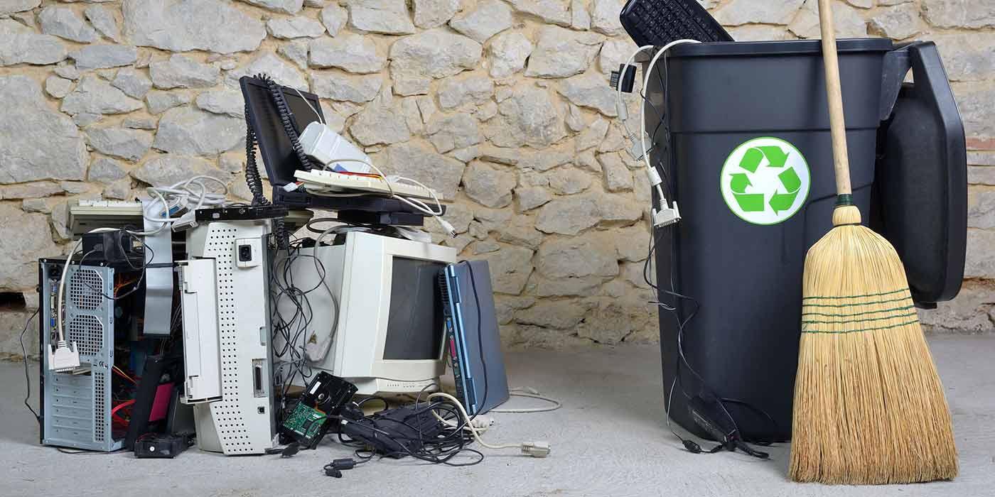 electronics-waste-bin